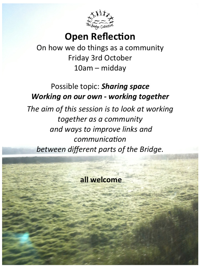 Open Reflection oct 14