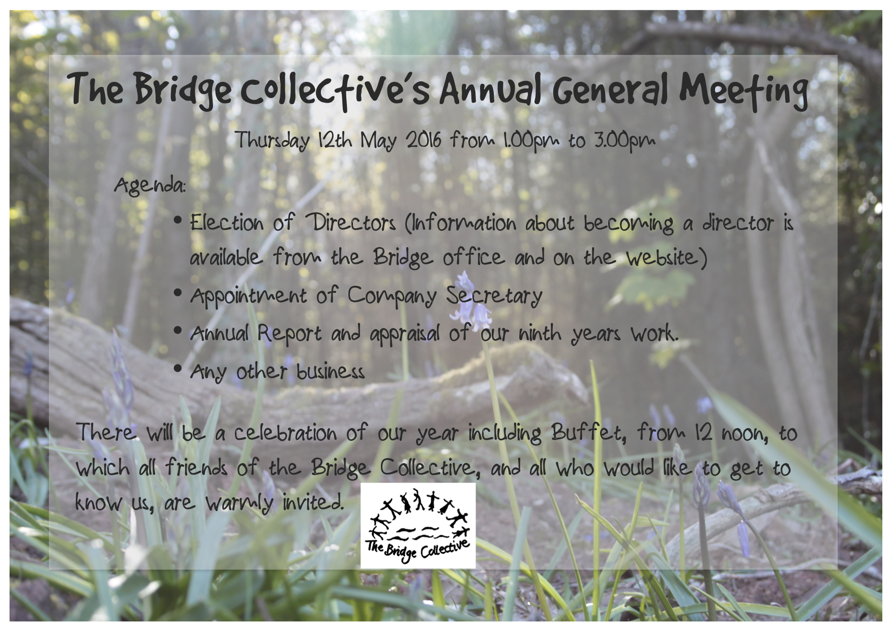 The Bridge Collective's Annual General Meeting