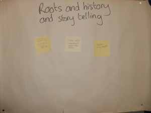 Roots, history and story telling