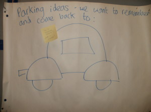 Parking ideas we want to remember and come back to