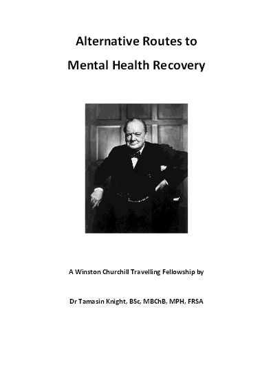 Front cover_Alternative Routes to Mental Health Recovery -Tamasin Knight [2014]