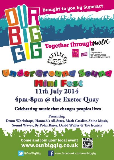 underground sound mini fest poster
